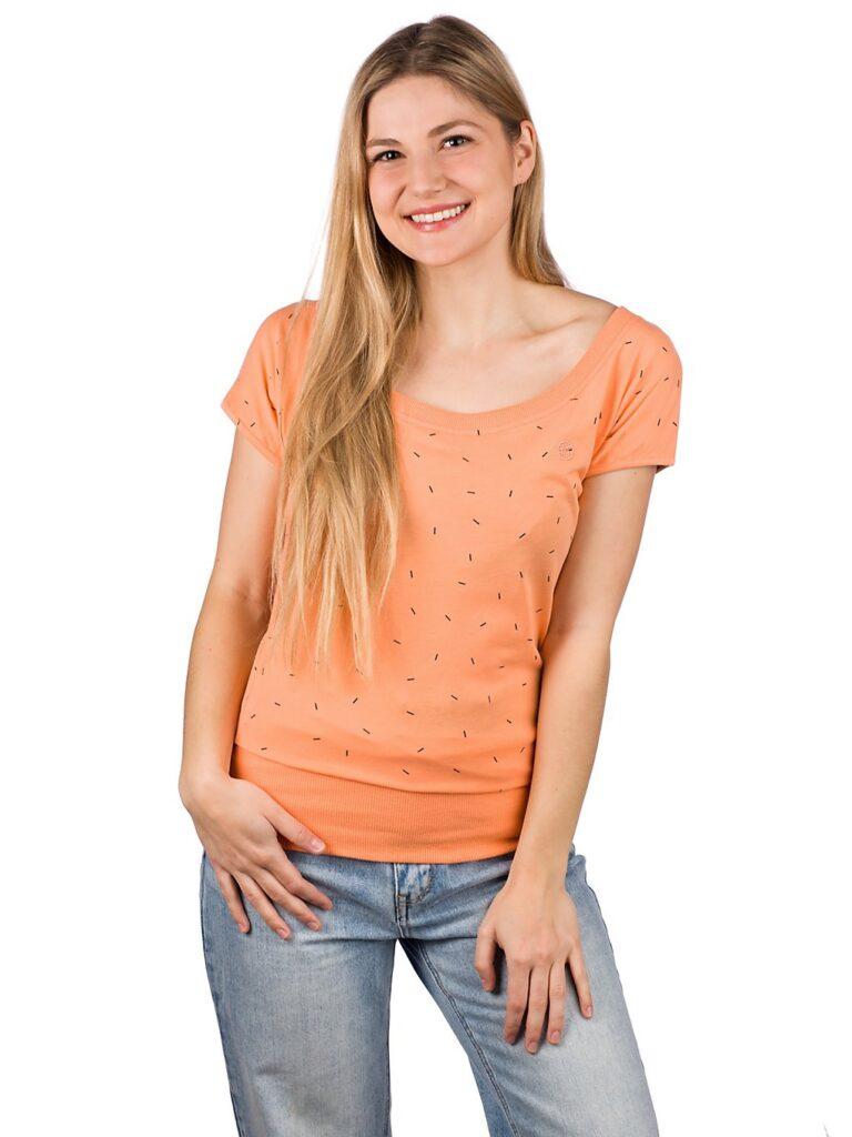 Kazane Hilde T-Shirt cantaloupe sprinkles kaufen