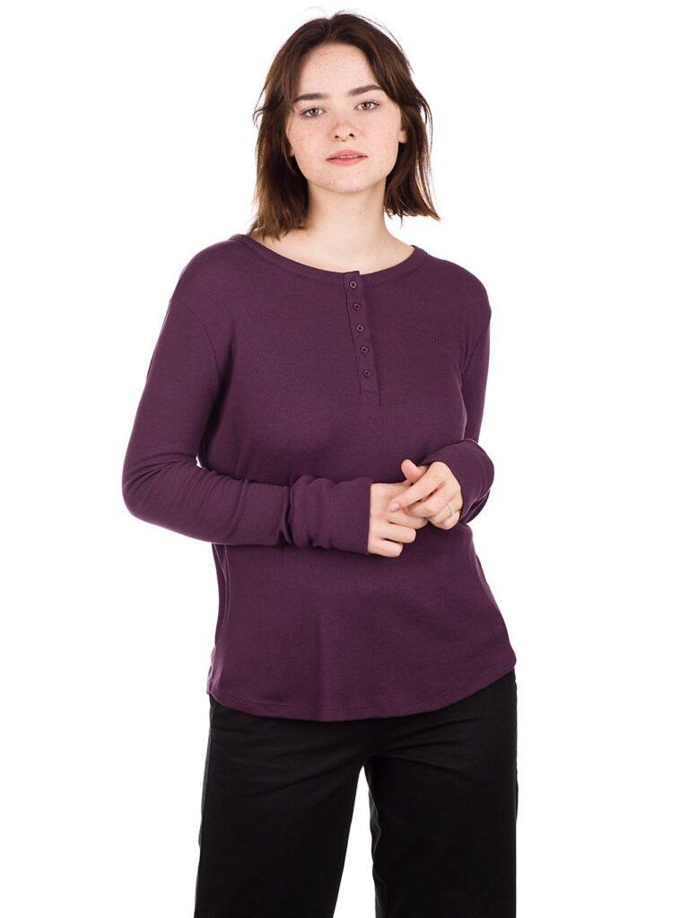 Kazane Margot Long Sleeve T-Shirt plum perfect kaufen