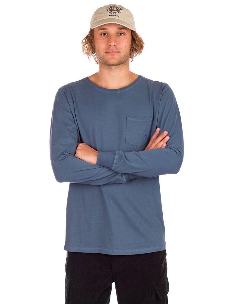 Kazane Oliver Naturals Long Sleeve T-Shirt orion blue kaufen