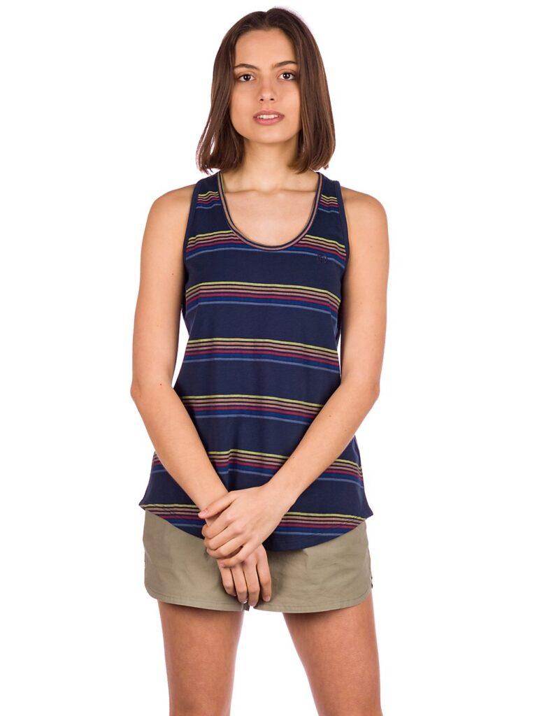 Kazane Viveca Tank Top dress blue / stripe kaufen