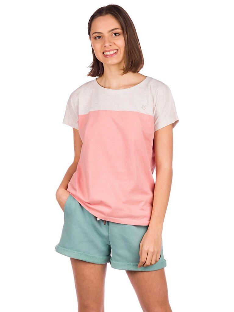 Kazane Yrsa T-Shirt rosette / oatmeal heather kaufen