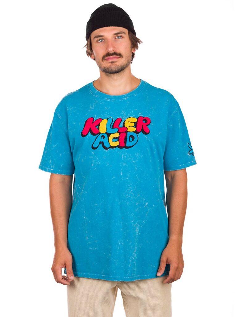 Killer Acid Big Logo T-Shirt blue wash kaufen