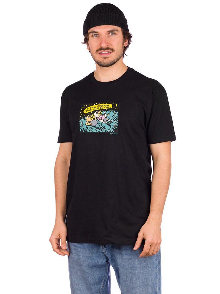 Killer Acid Just Be Cool T-Shirt black kaufen