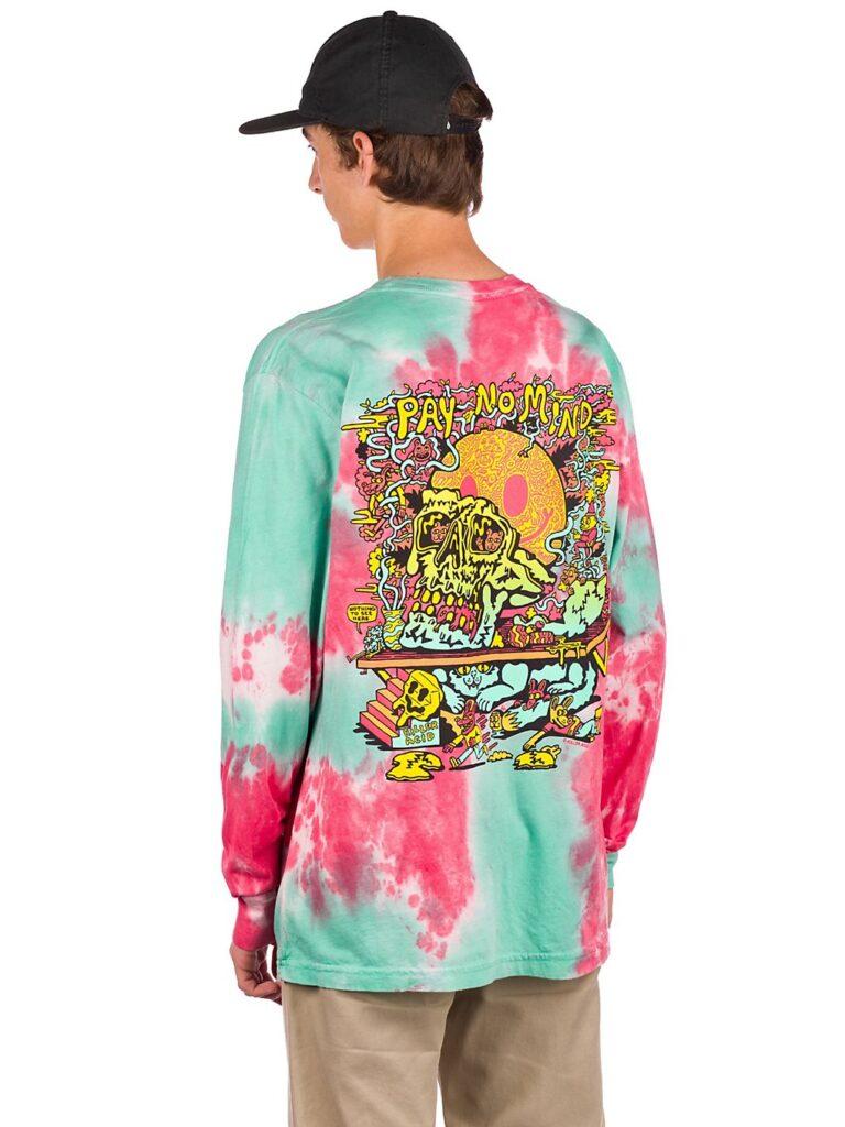 Killer Acid Pay No Mind Longsleeve T-Shirt pink dye kaufen