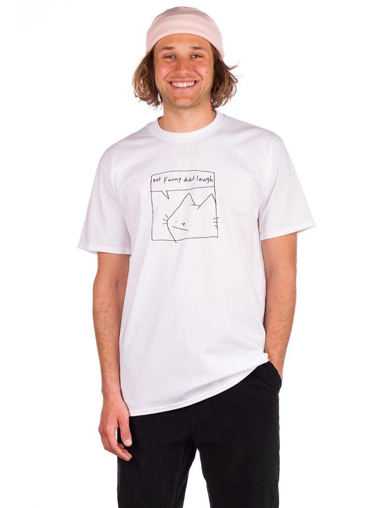 Leon Karssen Haha T-Shirt white kaufen