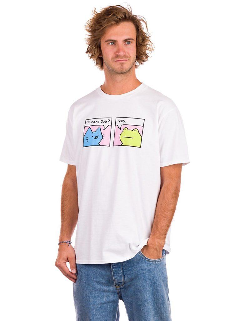 Leon Karssen How R U T-Shirt white kaufen