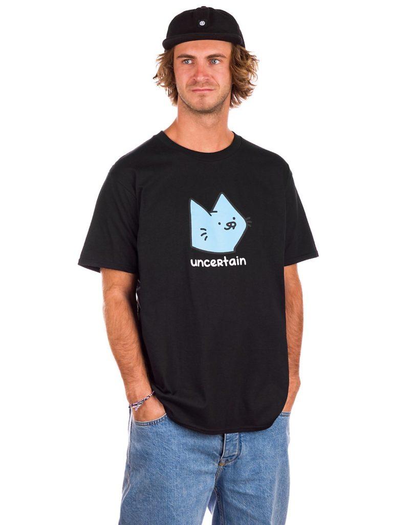 Leon Karssen Uncertain T-Shirt black kaufen
