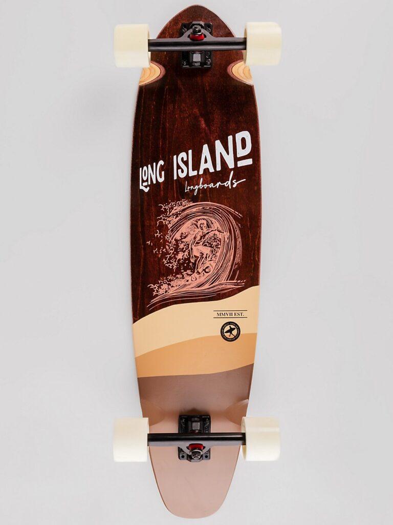"Long Island Longboards Stamp Kicktail 37"" Complete uni kaufen"