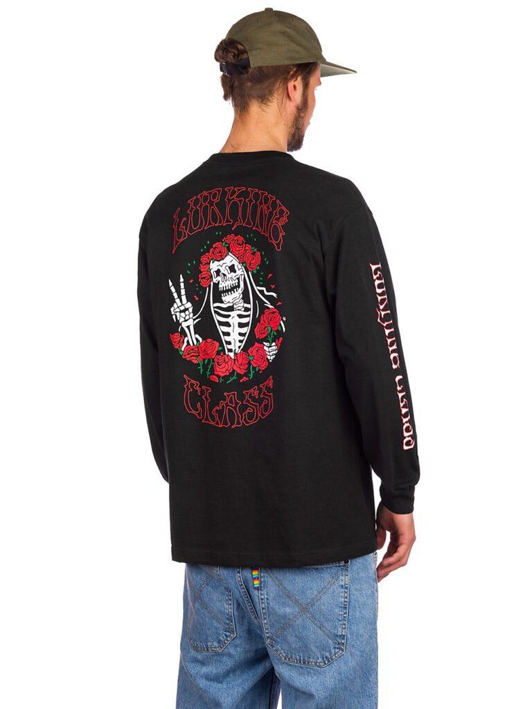 Lurking Class Bert Longsleeve T-Shirt black kaufen