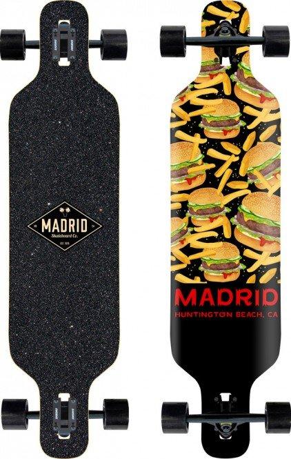 MADRID SKATEBOARDS WEEZER BURGER 36 Longboard 2021 kaufen