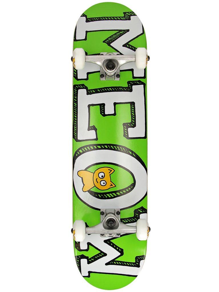"Meow Skateboards Logo 7.75"" Complete green kaufen"