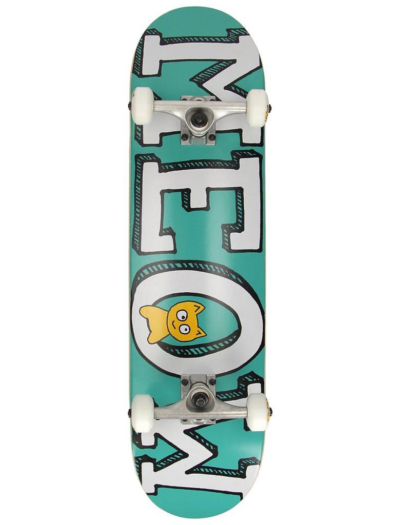 "Meow Skateboards Logo 8"" Complete teal kaufen"