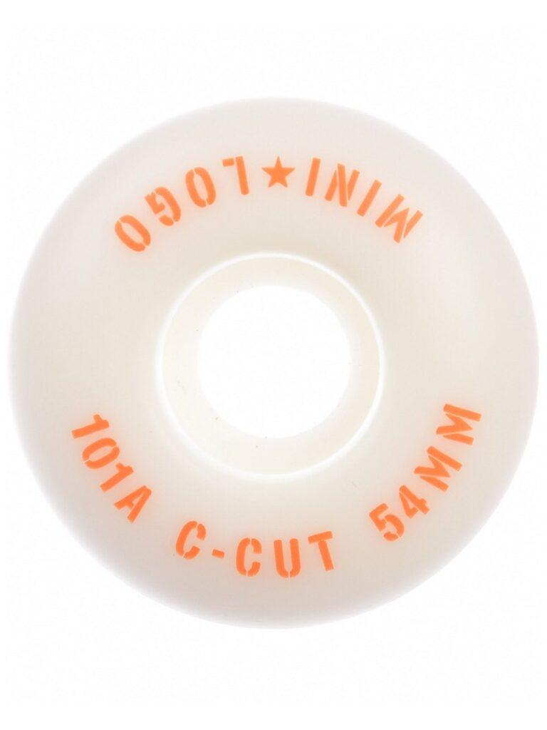 Mini Logo C-Cut #3 101A 50mm Wheels white kaufen