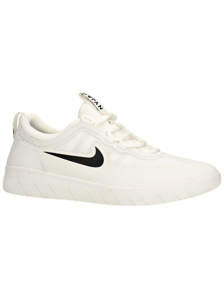 Nike SB Nyjah Free 2 Skate Shoes summit wht / blk / summit 100 kaufen