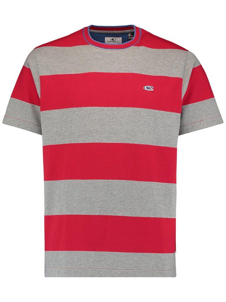O'Neill Block Stripe T-Shirt haute red kaufen