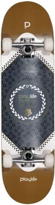 PLAYLIFE HARDCORE Skateboard 2021 gold - 8.0x31 kaufen