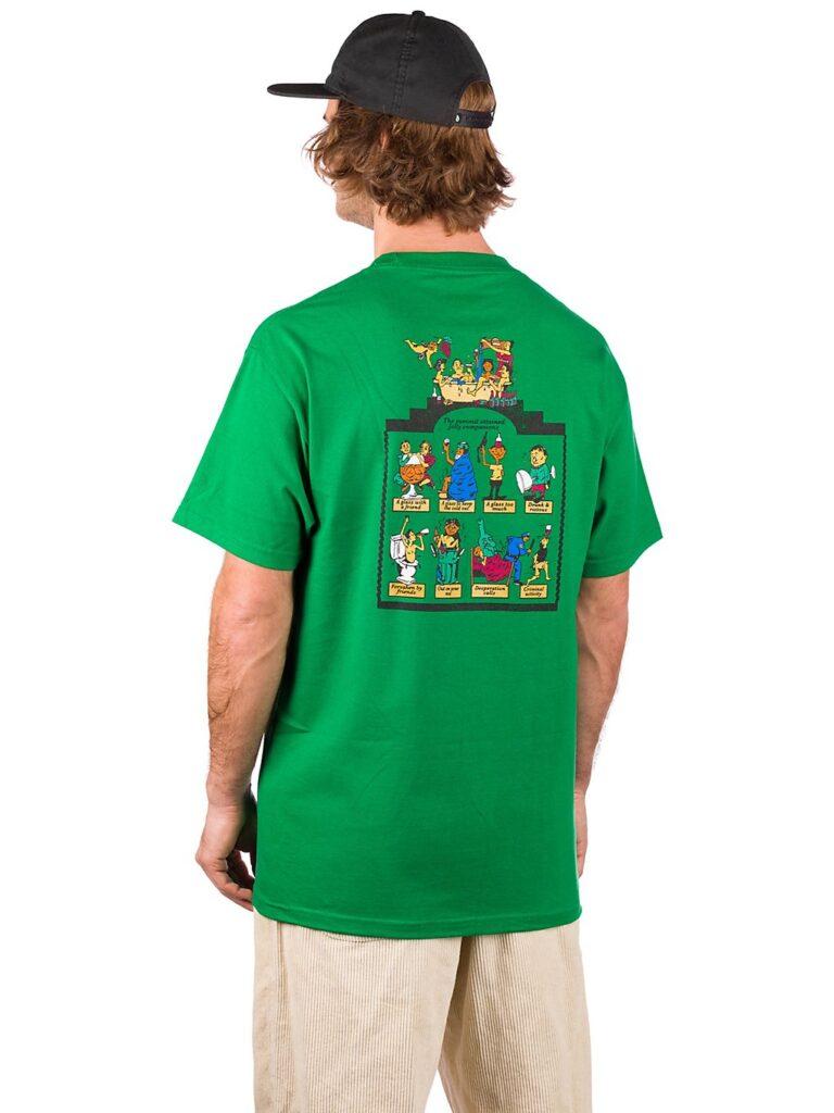 Pass Port Trickle Down T-Shirt kelly green kaufen