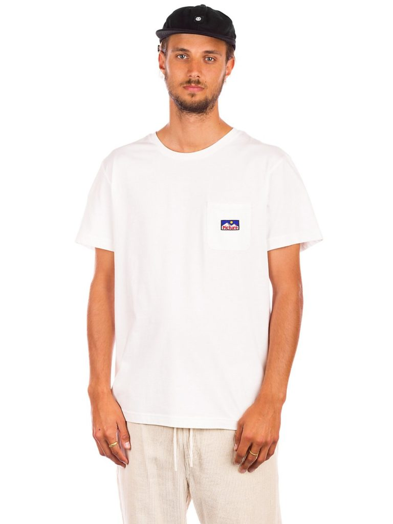 Picture Real Pkt T-Shirt white kaufen