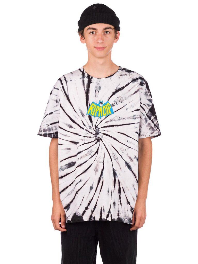 RIPNDIP Catman T-Shirt black spiral tie dye kaufen