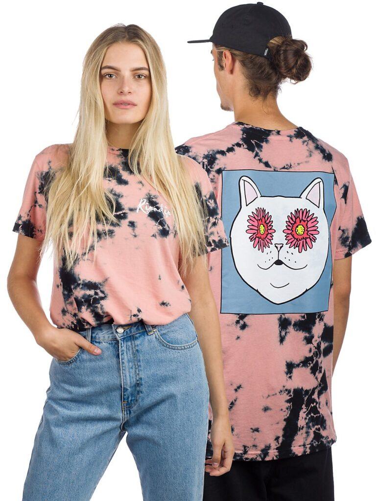 RIPNDIP Flower Eyes T-Shirt tie dye kaufen
