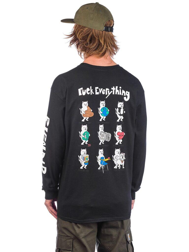 RIPNDIP Fuck Everything Long Sleeve T-Shirt black kaufen