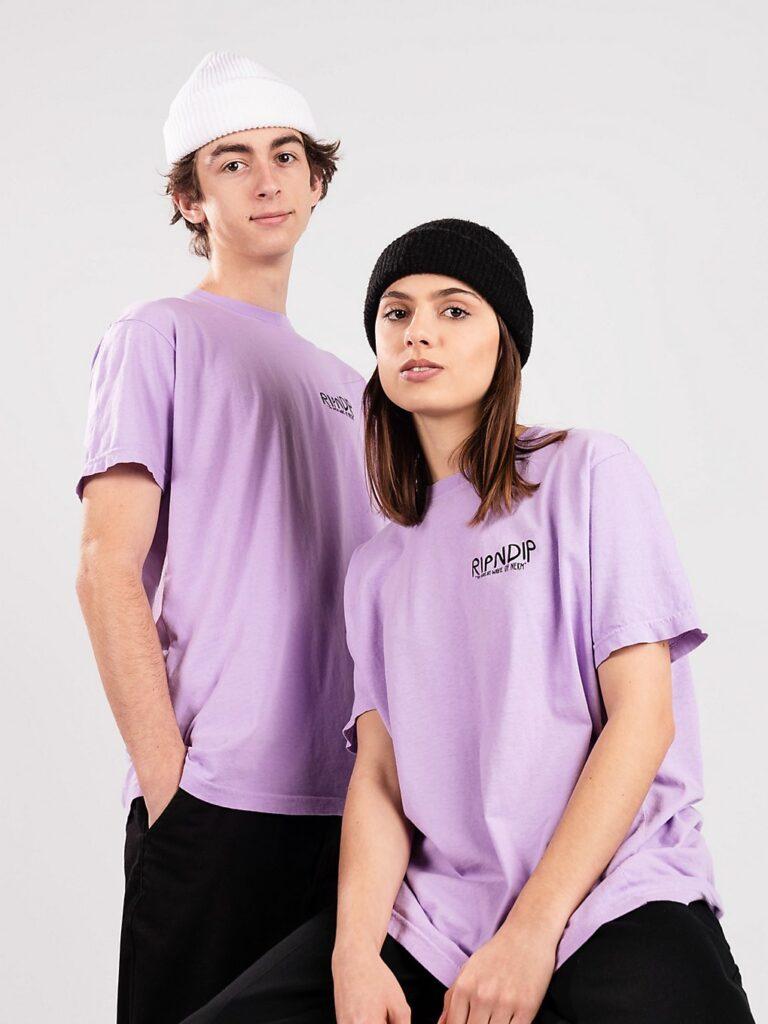 RIPNDIP Great Wave T-Shirt lavender kaufen