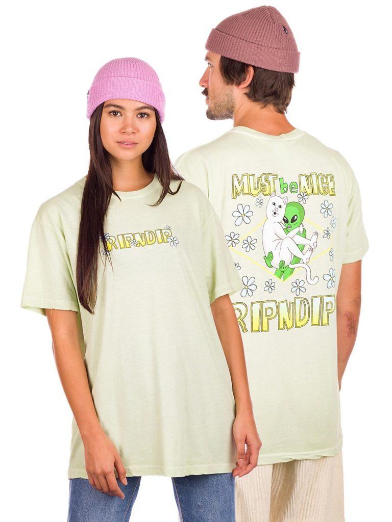 RIPNDIP Lonely Lover T-Shirt light lime kaufen