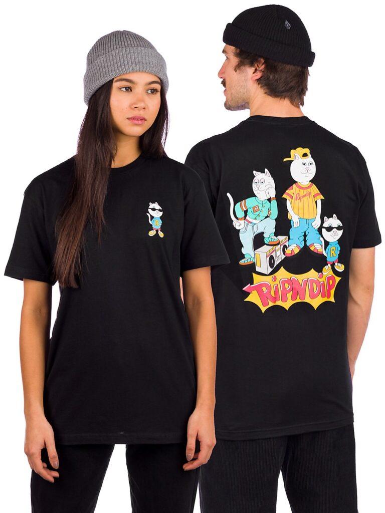 RIPNDIP Nerm and the Gang T-Shirt black kaufen