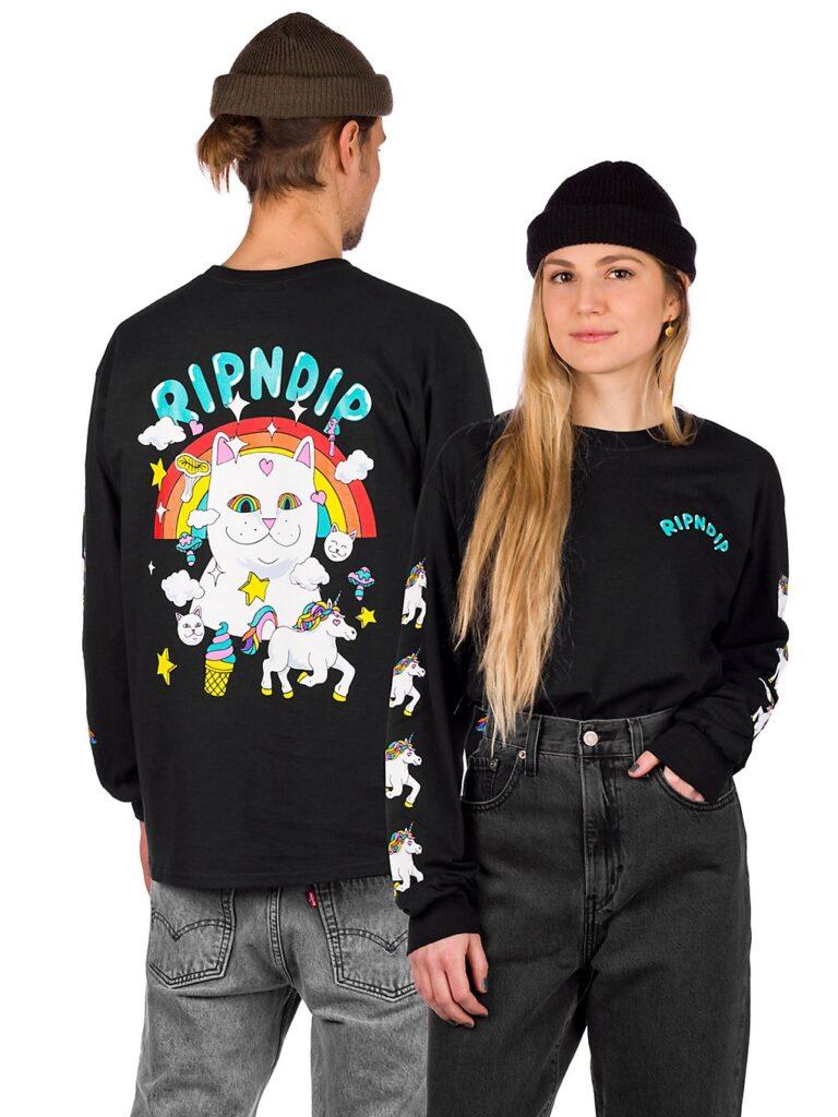 RIPNDIP Nermland Long Sleeve T-Shirt black kaufen