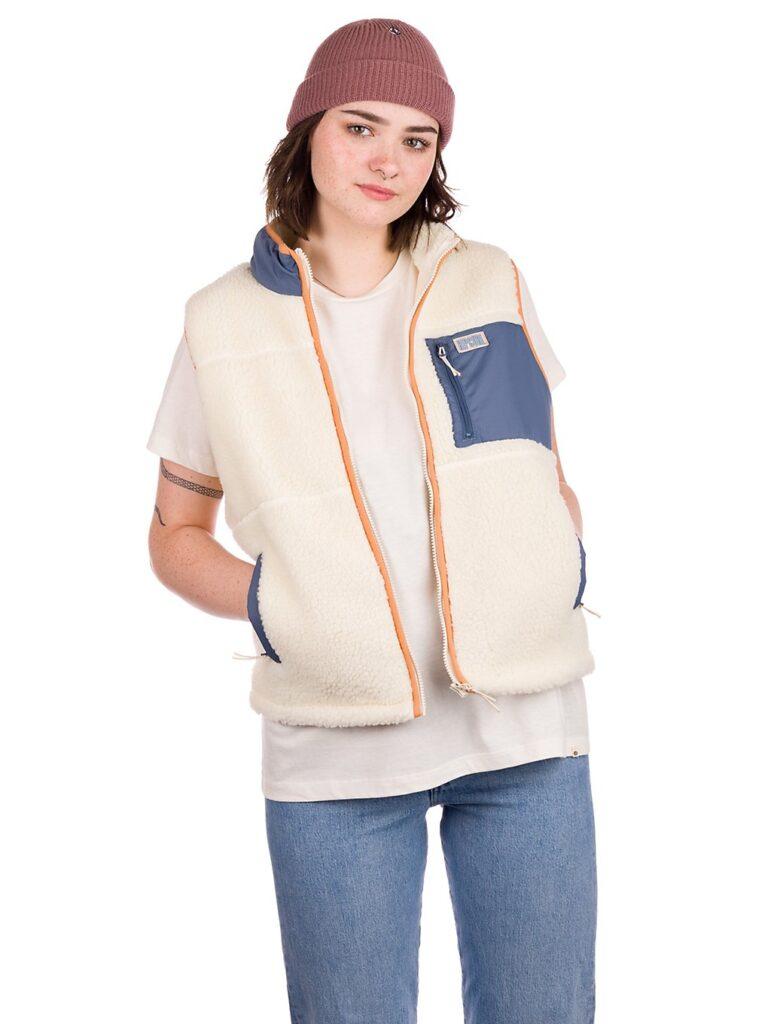 Rip Curl Glider Vest off white kaufen