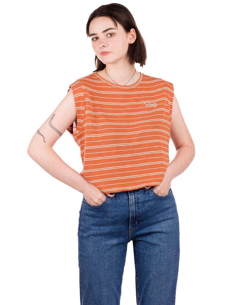 Roxy Colorful Rain T-Shirt sunburst horizon stripe kaufen