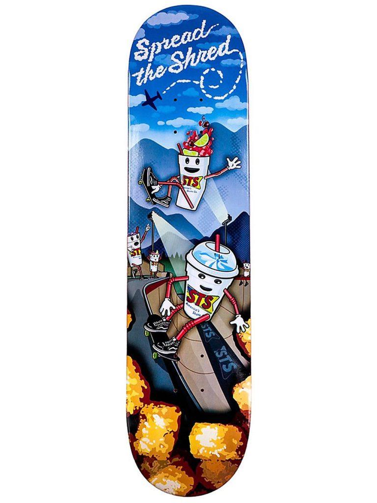 "STS Skate Co Slushie Shredders 7.5"" Skateboard Deck uni kaufen"