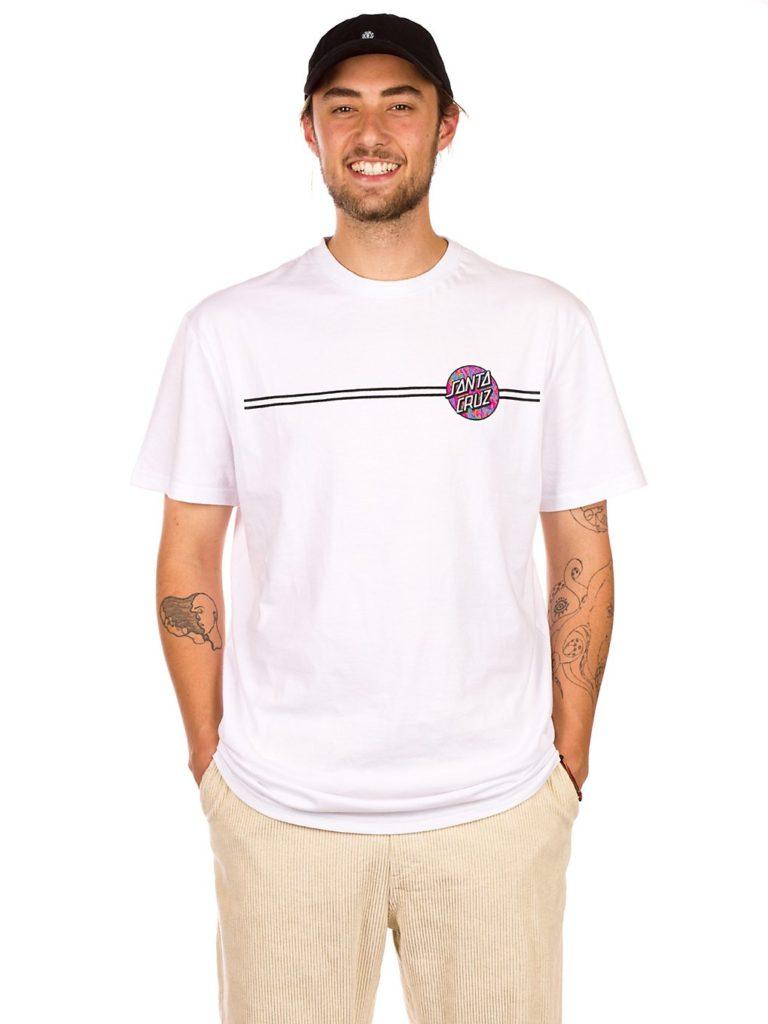 Santa Cruz BT OG Classic Spill Dot T-Shirt white kaufen