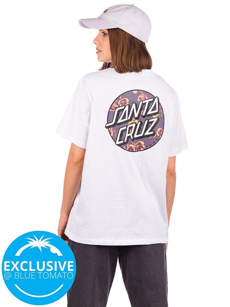 Santa Cruz BT Poppy Infill T-Shirt white kaufen