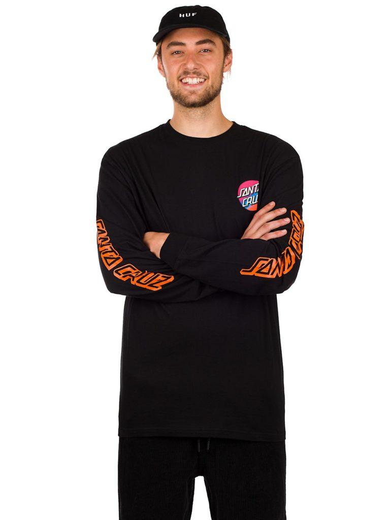 Santa Cruz BT Screaming Hand Long Sleeve T-Shirt black kaufen