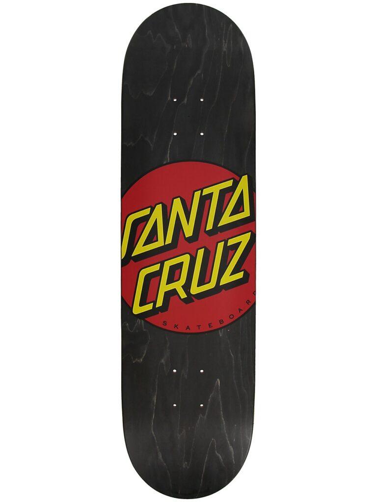 "Santa Cruz Classic Dot FA20 8.25"" Skateboard Deck black kaufen"