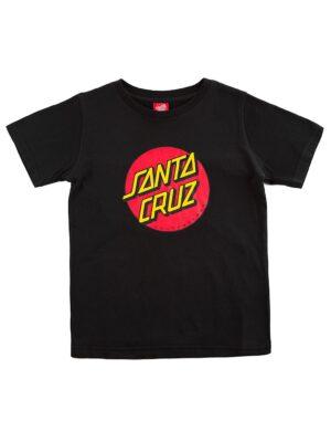 Santa Cruz Classic Dot T-Shirt black kaufen