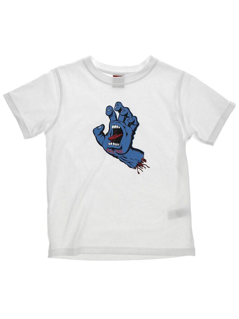 Santa Cruz Screaming Hand T-Shirt white kaufen