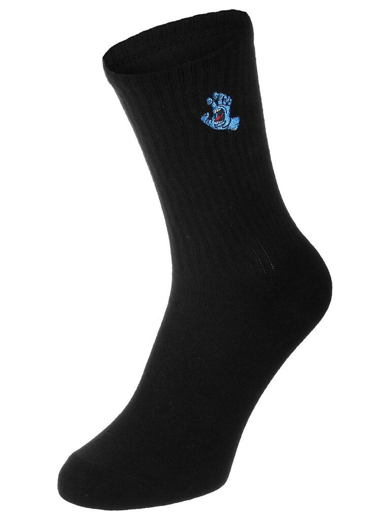 Santa Cruz Screaming Mini Hand Socks black kaufen