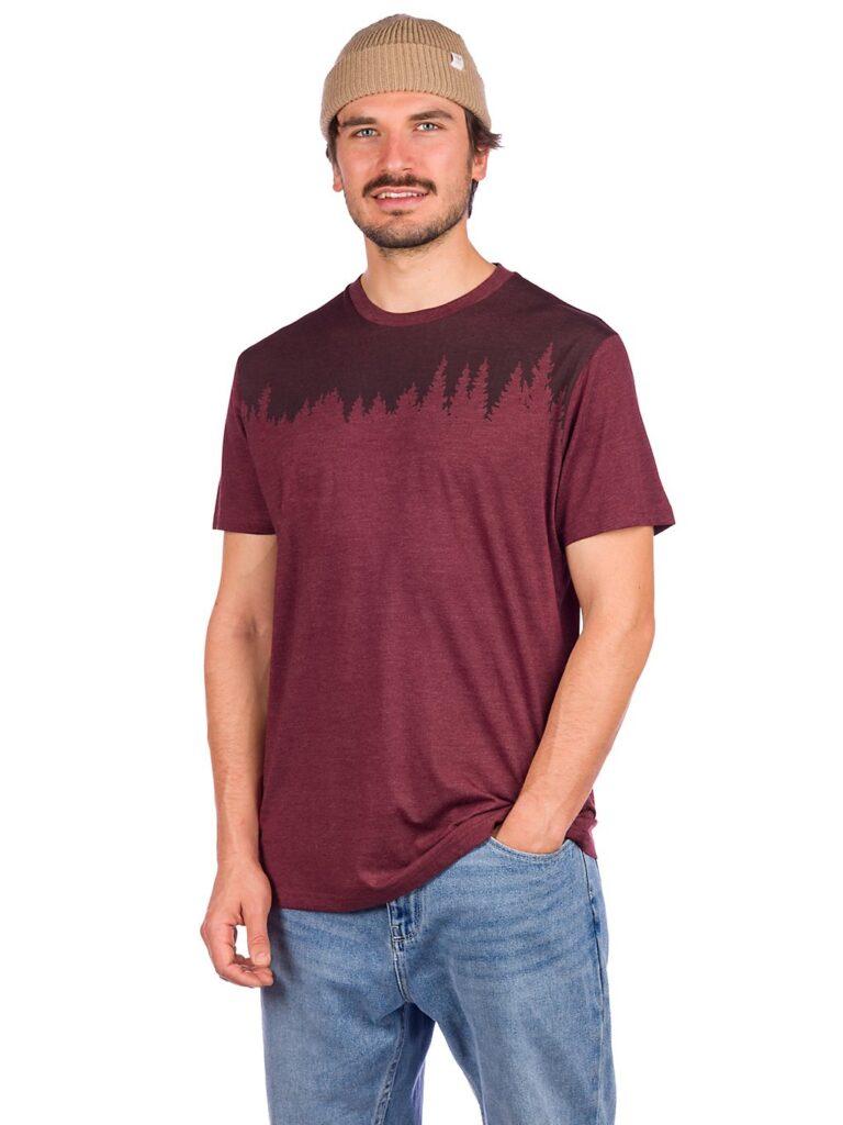 Tentree Junniper Classic T-Shirt red mahogany heather kaufen