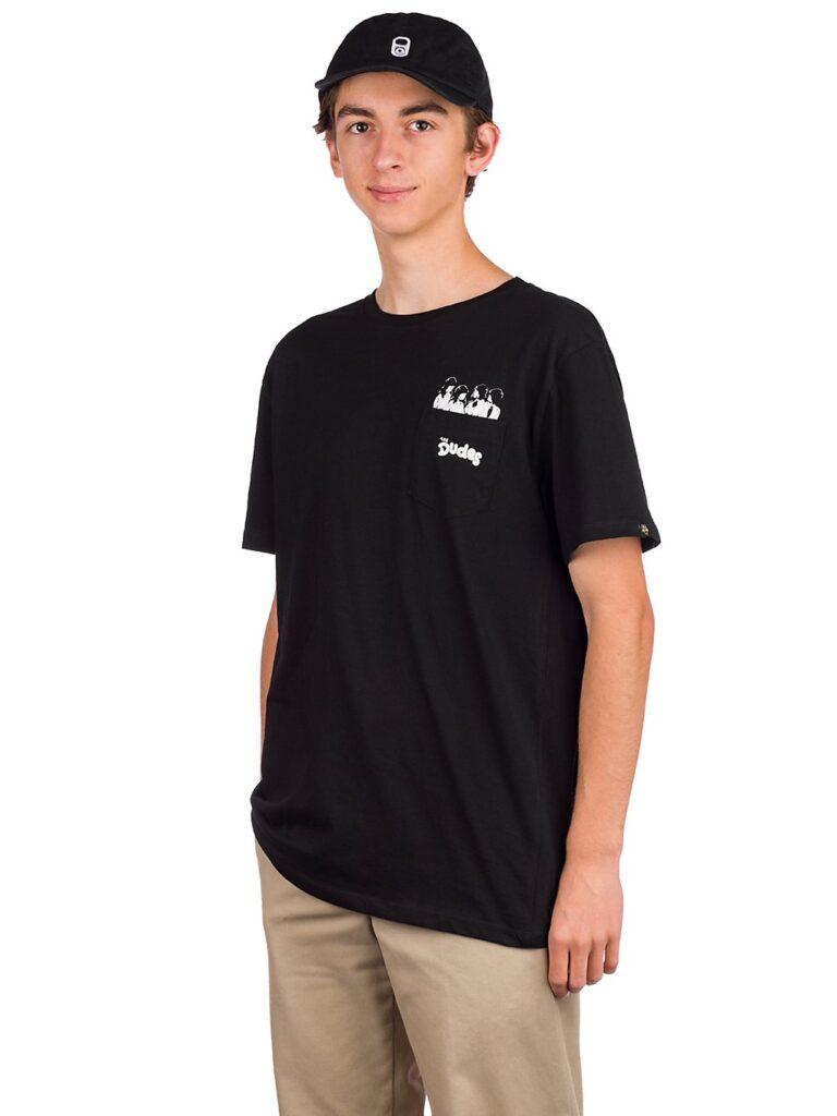 The Dudes Pocket Pool T-Shirt black kaufen