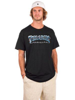 Thrasher Black Ice T-Shirt black kaufen