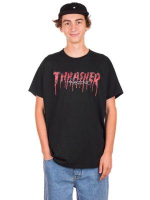 Thrasher Blood Drip T-Shirt black kaufen