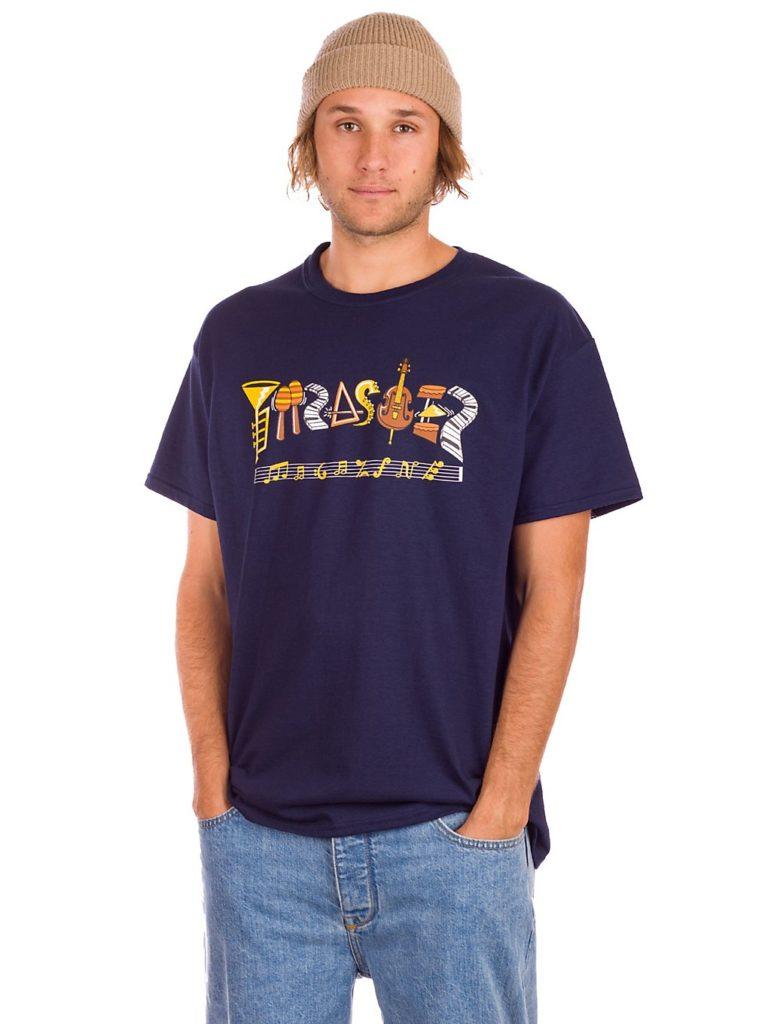 Thrasher Fillmore Logo T-Shirt navy kaufen