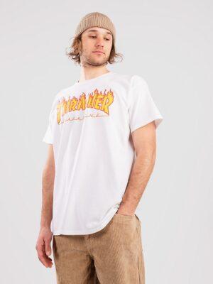 Thrasher Flame T-Shirt white kaufen