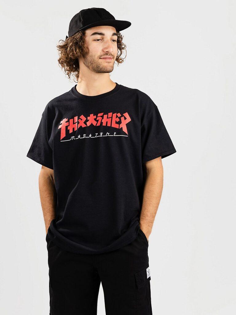 Thrasher Godzilla T-Shirt black kaufen