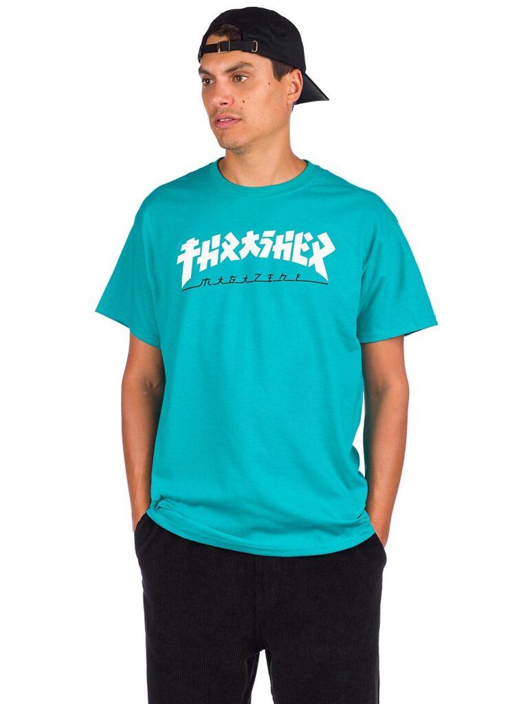 Thrasher Godzilla T-Shirt jade kaufen