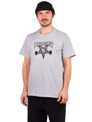 Thrasher Skate Goat T-Shirt grey mottled kaufen