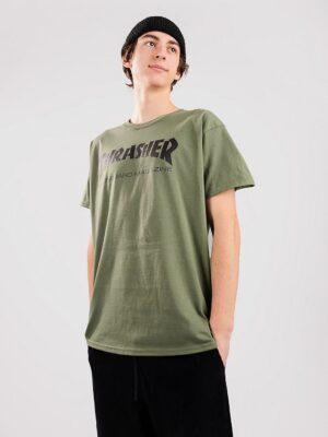 Thrasher Skate Mag T-Shirt army kaufen