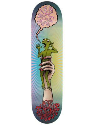 """Toy Machine Carpenter Turtle In Hand 8.0"""" Skateboard Deck multicolored kaufen"""